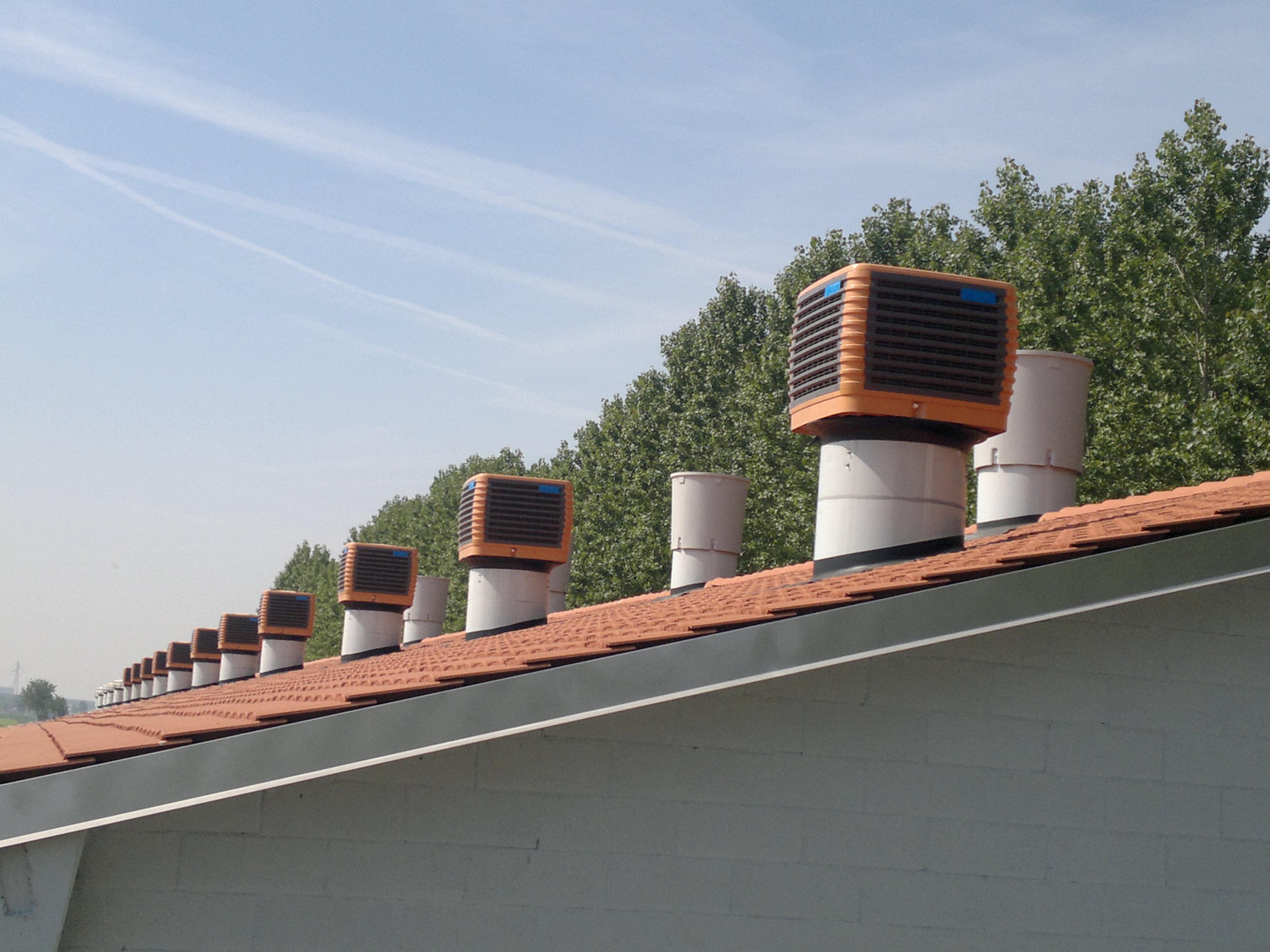 Franco-srl-Umidificazione-Raffrescamento-RoofCooler-industria-zootecnia