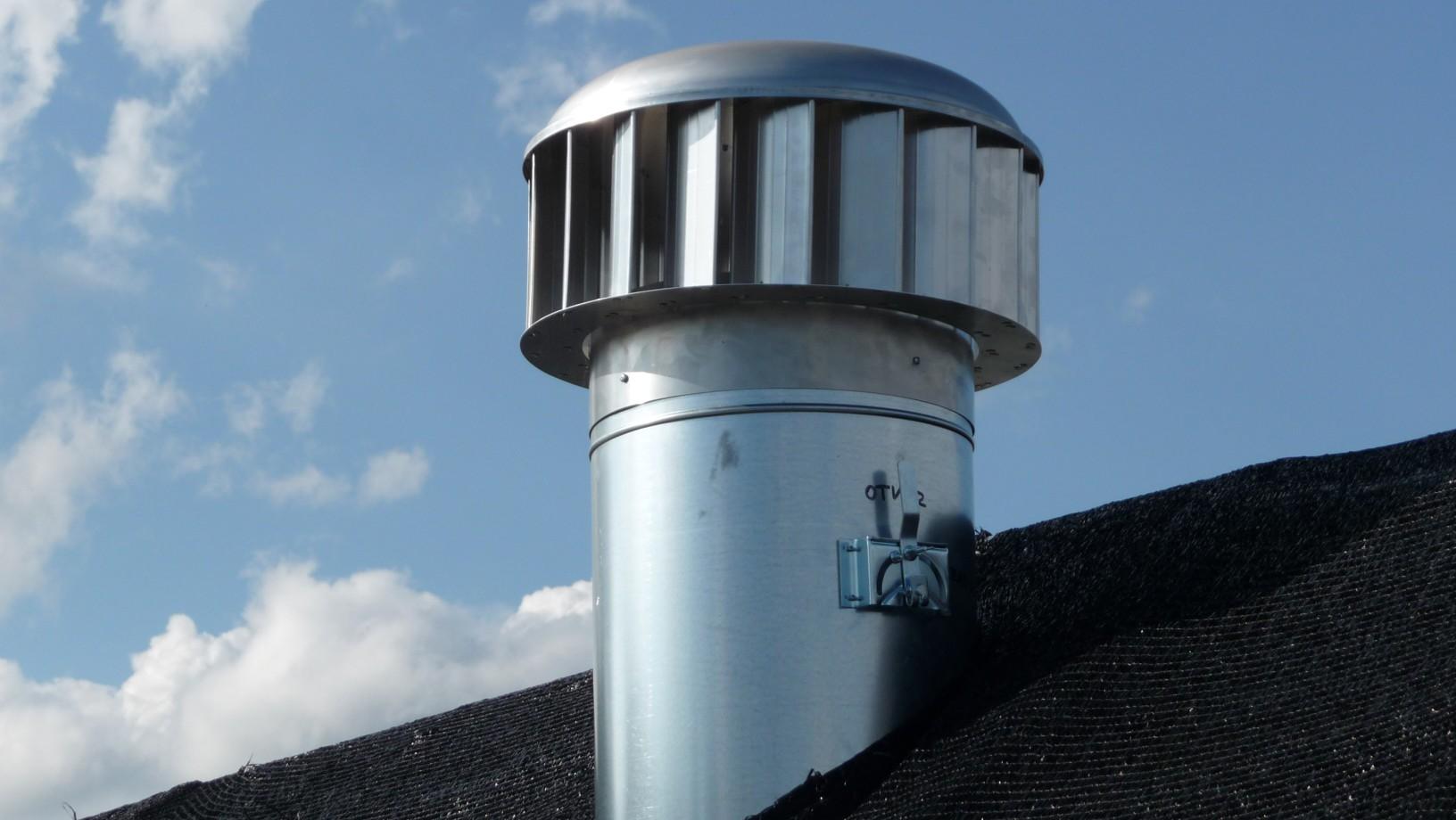 Fairair ventilacni turbiny
